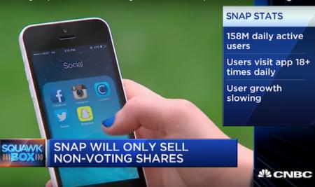 Snapchat goes public – Videó lecke – Haladó