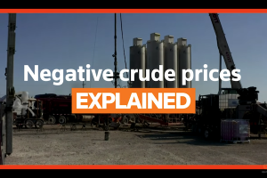 negative crude prices